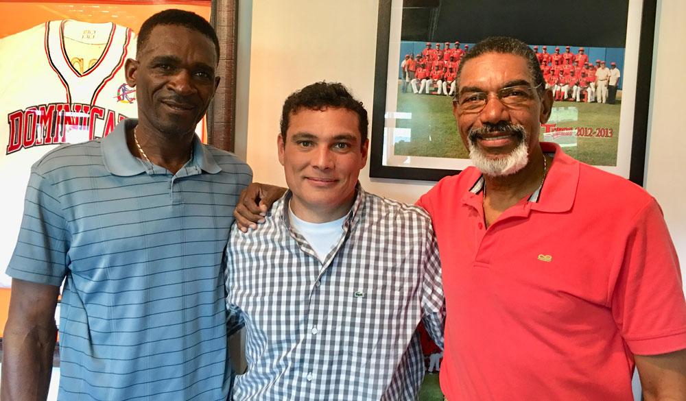 Julian Yan, Raymond Abreu y Arturo DeFreites