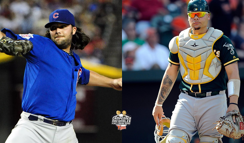 James Russell y Bruce Maxwell