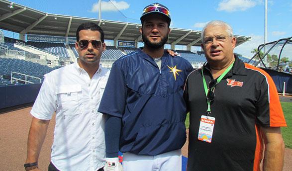 Félix Peguero, Mayobanex Acosta y Pablo Peguero